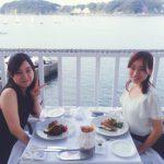 葉山にあるフランス風創作海辺料理『LA・MAREE』にて素敵な友人と…♡